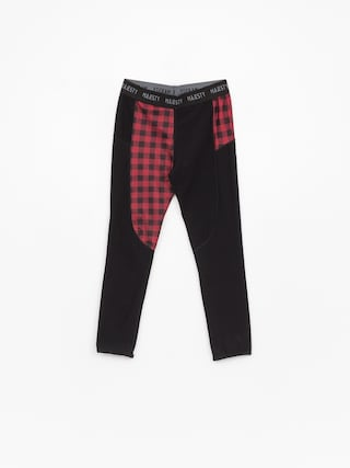 Leginsy Majesty Srface Lady Pants Lumberjack Wmn (red/black)