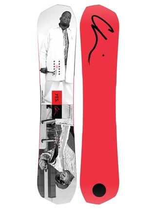 Deska snowboardowa Yes Greats Chi (notorious b i g red)
