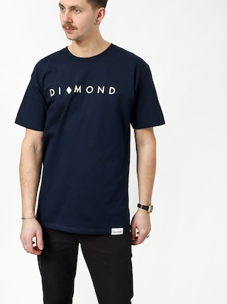 T-shirt Diamond Supply Co. Marquise (navy)