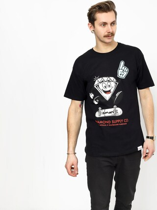 T-shirt Diamond Supply Co. Number 1 (black)