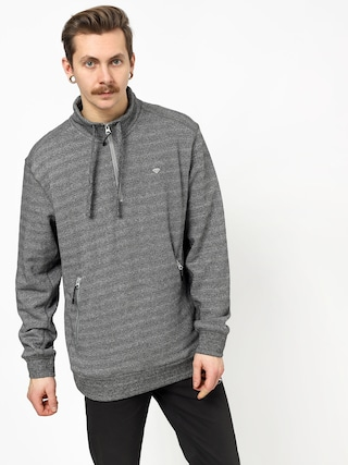 Bluza z kapturem Diamond Supply Co. Diamante Mock Neck (heather grey)