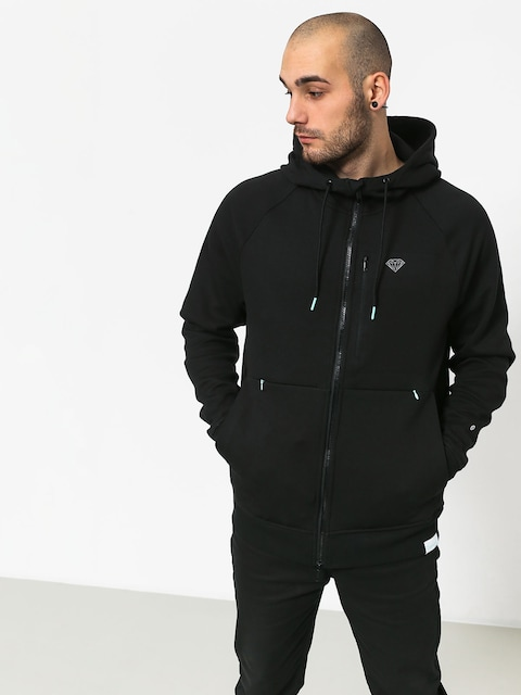Bluza z kapturem Diamond Supply Co. Dmnd X Pacsafe HD (black)