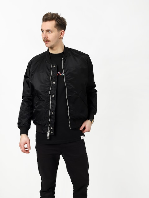 Kurtka Diamond Supply Co. Panelled Bomber (black)
