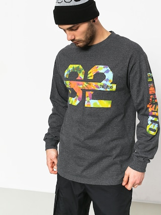 Longsleeve ThirtyTwo Ridelite Graphic (charcoal/heather)