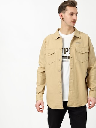 Koszula Diamond Supply Co. Military Ls (tan)