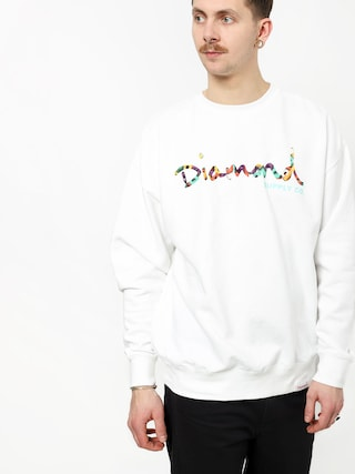 Bluza Diamond Supply Co. Og Script Fasten (white)