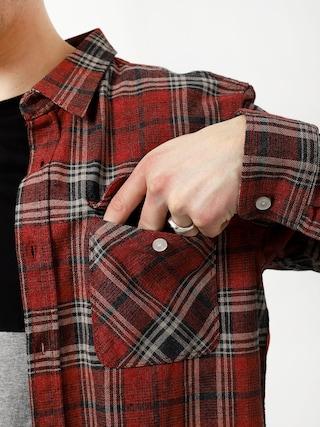 Koszula Brixton Bowery Flannel Ls (brick/steel)