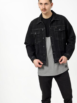 Kurtka Brixton Cable Denim (black)
