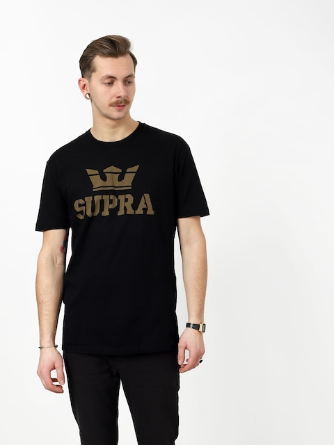 T-shirt Supra Above Regular (black/dk olv)