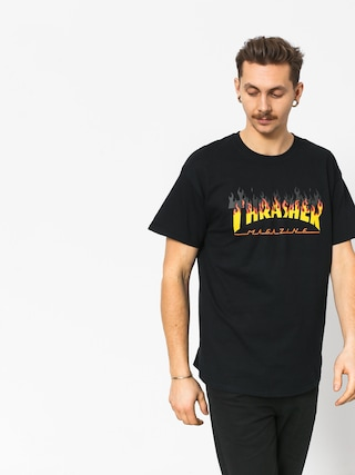 T-shirt Thrasher Bbq (black)