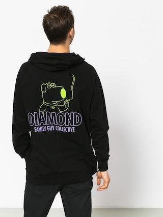 Bluza z kapturem Diamond Supply Co. Family Guy Collective (black)