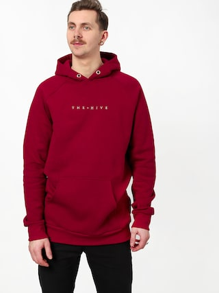 Bluza z kapturem The Hive Hive HD (burgundy)