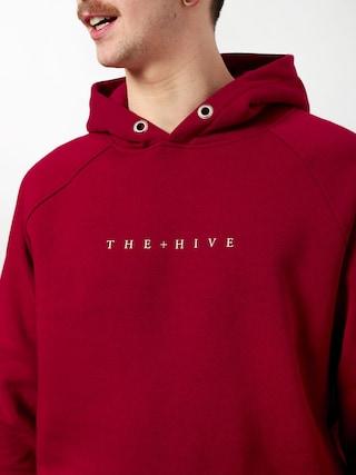 Bluza z kapturem The Hive Hive HD (burgundy)