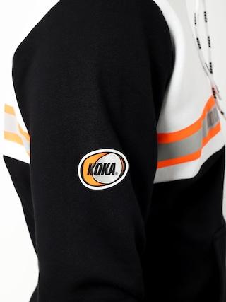 Bluza z kapturem Koka Assistance HD (white/black)