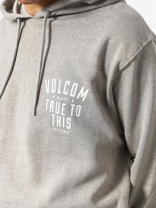 Bluza z kapturem Volcom True To This HD (hgr)