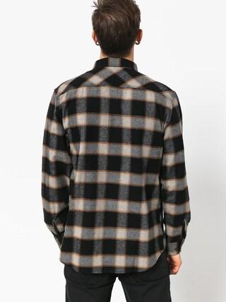 Koszula Brixton Bowery Flannel Ls (black/cream)