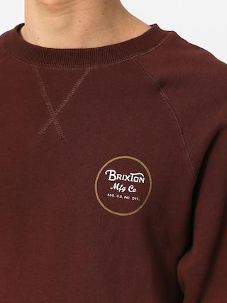 Bluza Brixton Wheeler Intl Crew (chestnut)