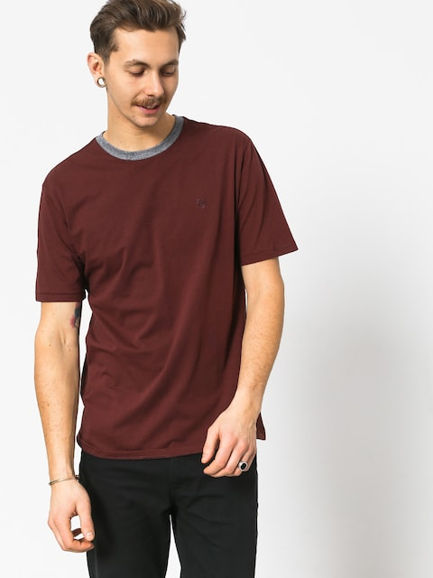 T-shirt Brixton B Shield Prt (chestnut)