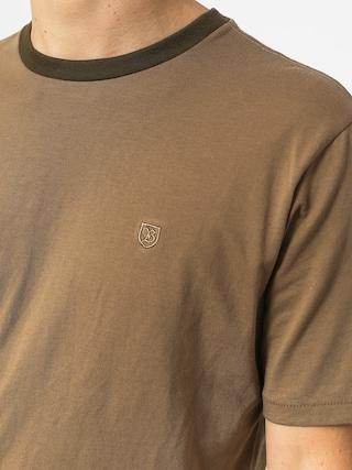 T-shirt Brixton B Shield Prt (dusty olive)