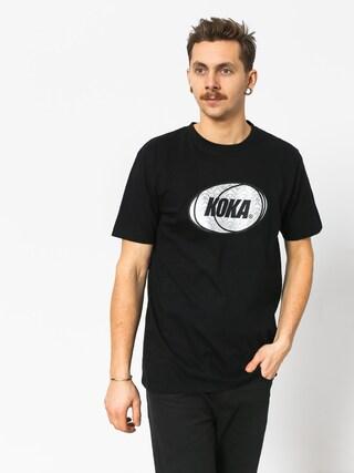 T-shirt Koka Rnbw (black)