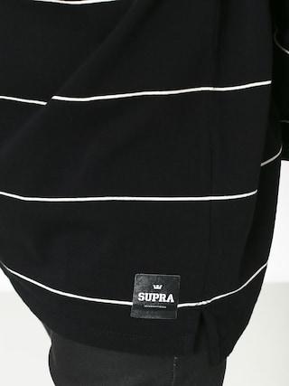 Bluza Supra Banded Crew (black/bon)