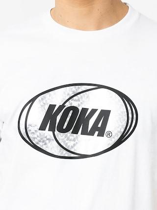 T-shirt Koka Rnbw (white)