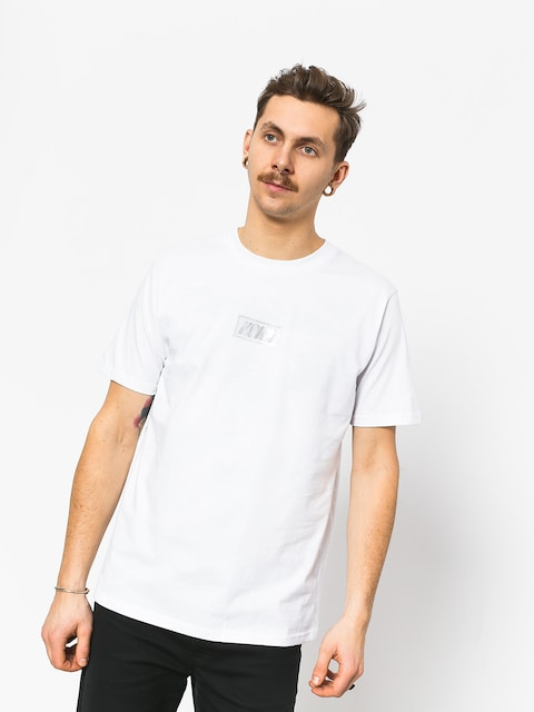 T-shirt Koka Clarity Boxlogo (white)