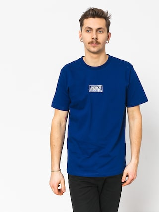 T-shirt Koka Clarity Boxlogo (navy)