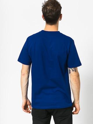 T-shirt Koka Clarity Boxlogo (navy)
