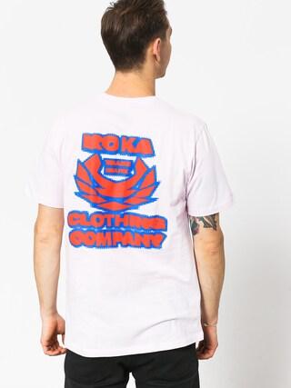 T-shirt Koka Blurry (pink)