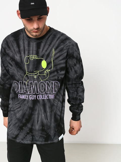 Longsleeve Diamond Supply Co. Dmnd Family Guy Collective Tie Dye