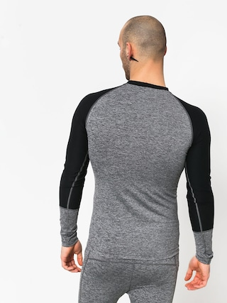 Longsleeve Majesty Cover Top Base Layer (grey/black)