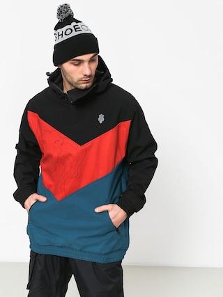 Kurtka snowboardowa Majesty Shadow Lion (black/red/blue)