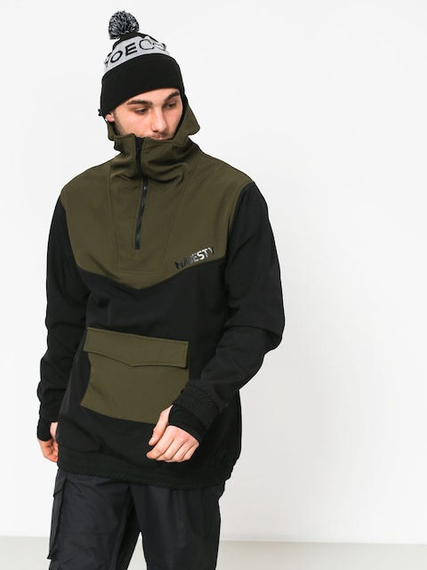 Kurtka snowboardowa Majesty Anorak (black/green)