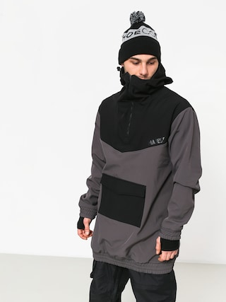 Kurtka snowboardowa Majesty Anorak (black/graphite)