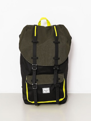 Plecak Herschel Supply Co. Little America (black/forest night/evening primrose)