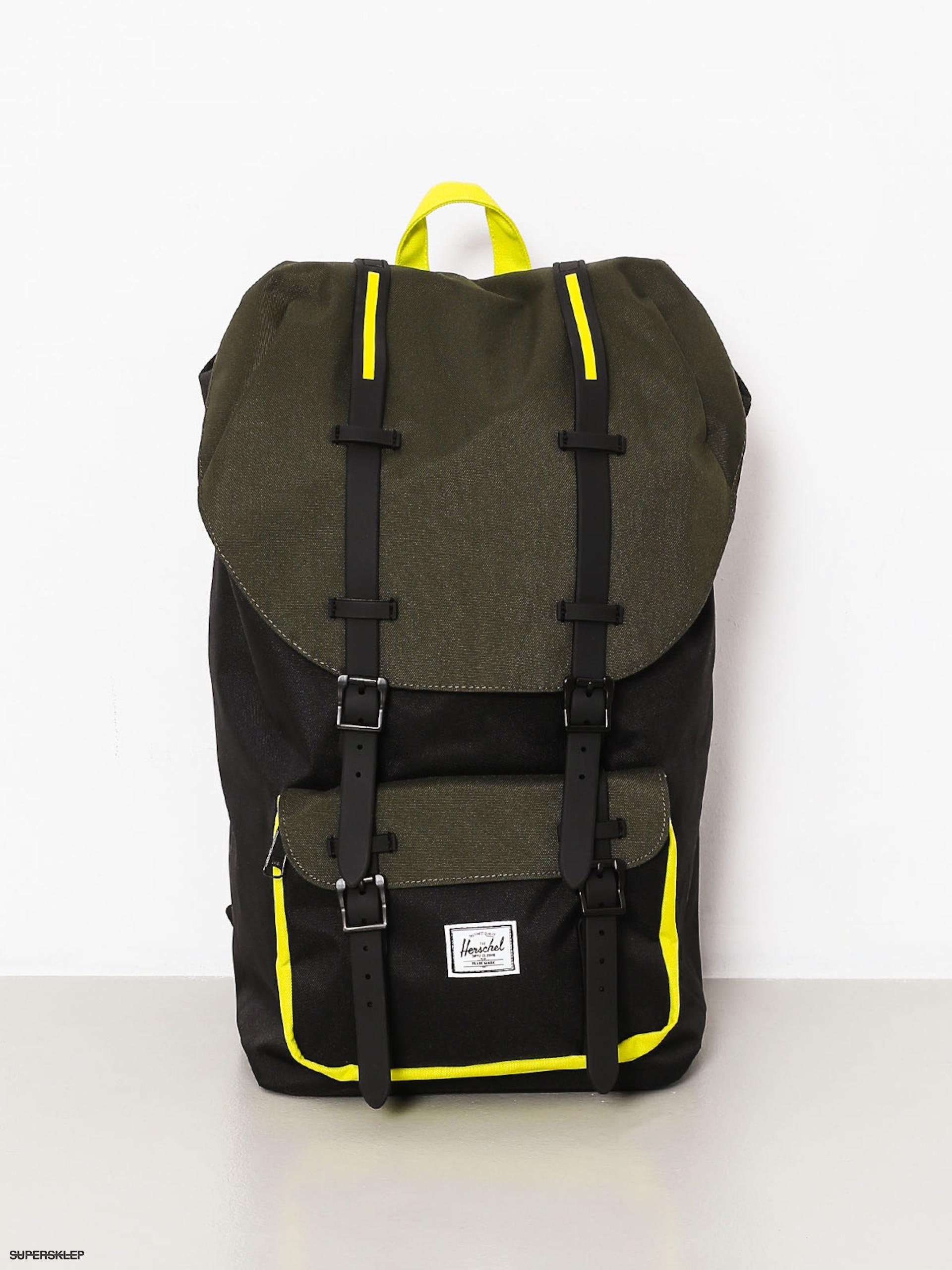 c63abdcf29624 Plecak Herschel Supply Co. Little America (black/forest night/evening  primrose)