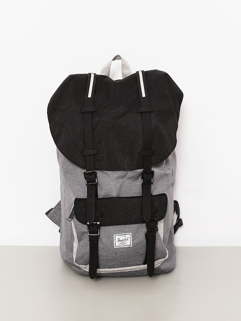 Plecak Herschel Supply Co. Little America (mid grey crosshatch/black/light grey crosshatch)