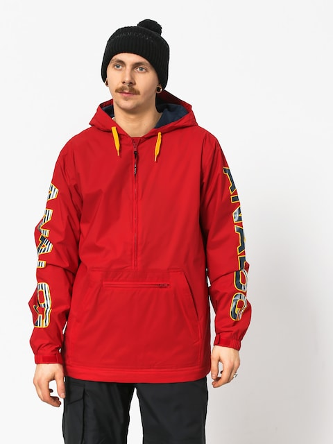 Kurtka snowboardowa Analog Chainlink Ank (process red)