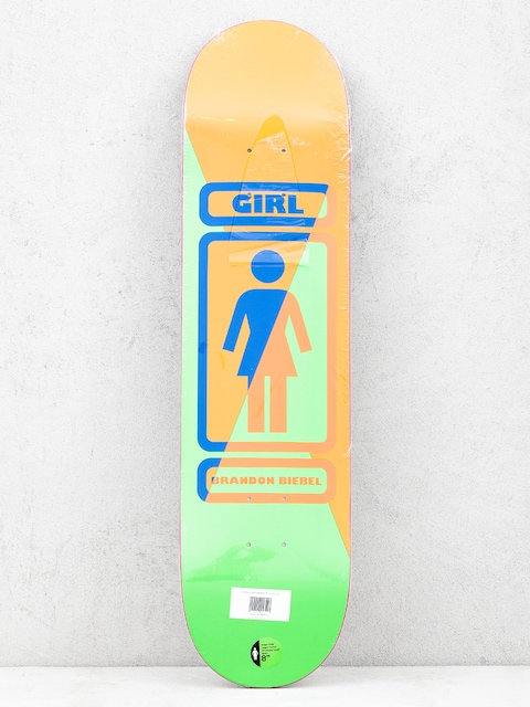 Deck Girl Skateboard Biebel 93 Til