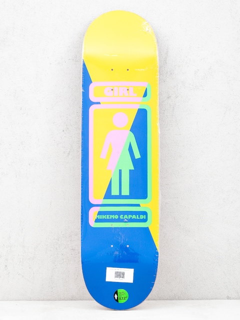 Deck Girl Skateboard Mike Mo 93 Til