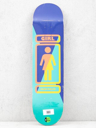 Deck Girl Skateboard Malto 93 Til (navy/teal)