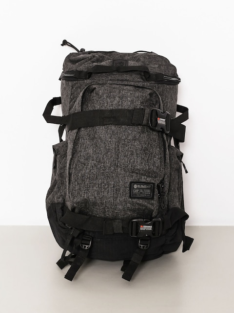 Plecak Element The Explorer (black grid htr)
