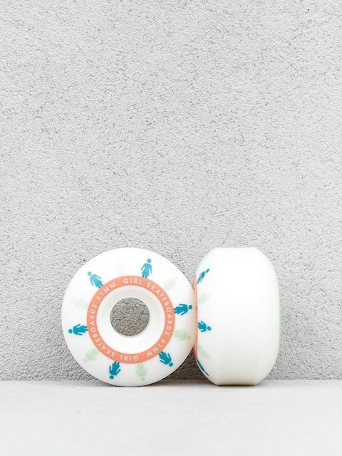 Kółka Girl Skateboard Mirage Staple (white/blue)