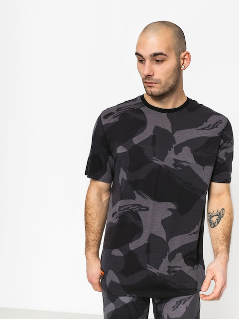 T-shirt Aktywny ThirtyTwo Ridelite Baselayer (black/camo)