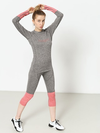 Leginsy Majesty Cover Lady Pants Base Layer Wmn (grey/pink)