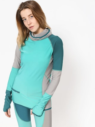 Longsleeve Majesty Srface Lady Top Colour Wmn (gray/turquise)