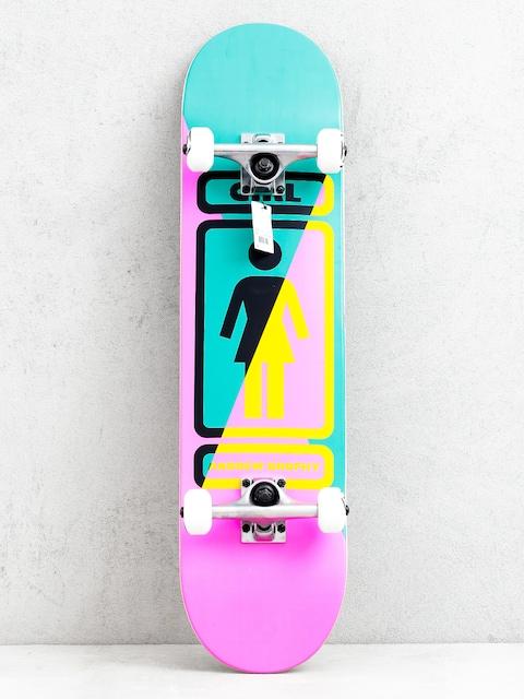 Deskorolka Girl Skateboard Brophy 93 Til (pink/green)