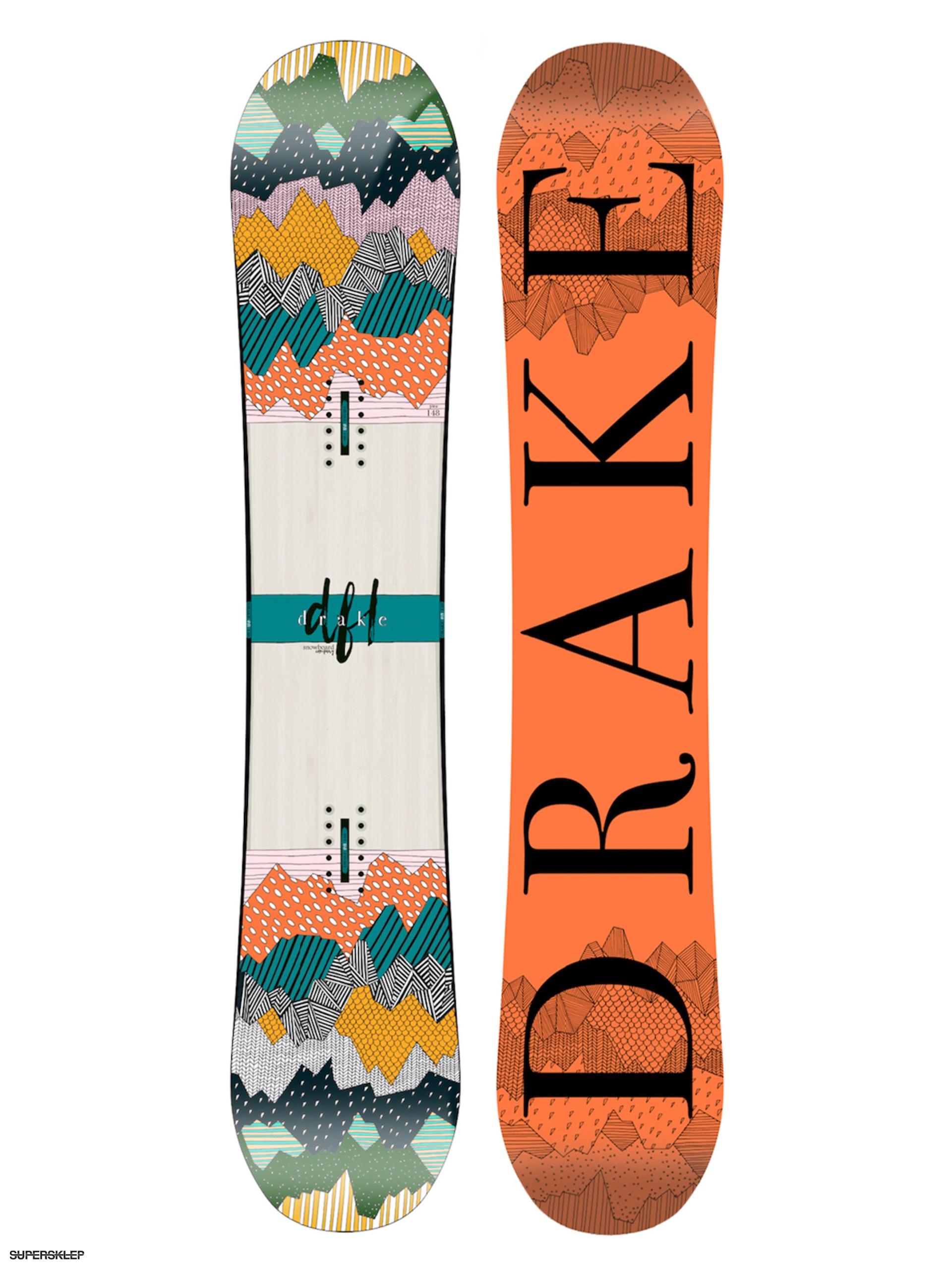 Deska snowboardowa Drake Dfl Wmn dc9a59efe5