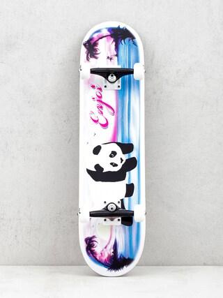 Deskorolka Enjoi Tropical Airbrush Panda (white/pink/blue)